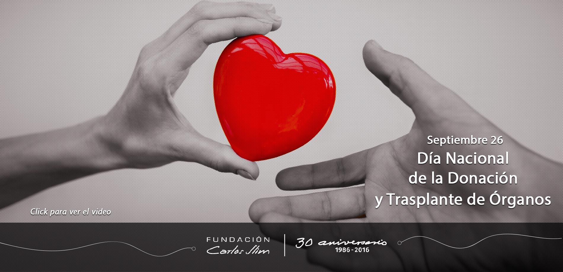13 Septiembre 26 Dia Nacional de la Donacion de Organos y Tjidos