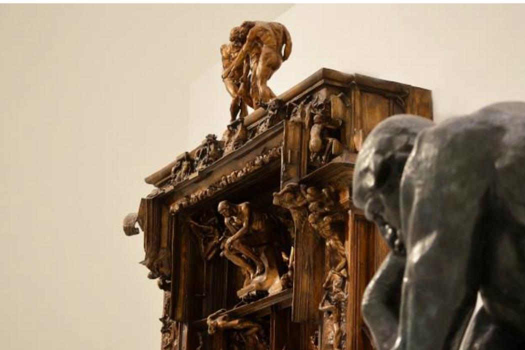 Exposici n la puerta del infierno se despide del museo for 9 puertas del infierno