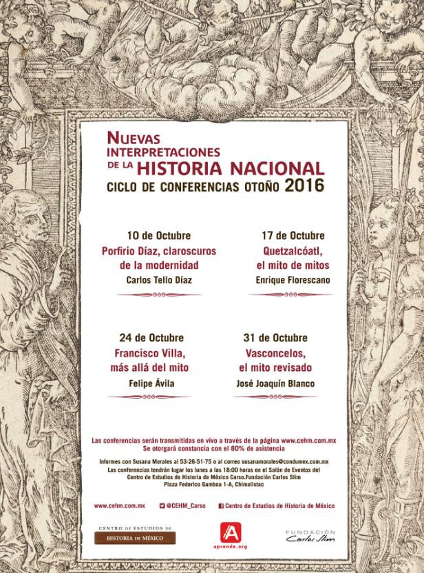 Conferencias en el Centro de Estudios de Historia de ... - photo#43