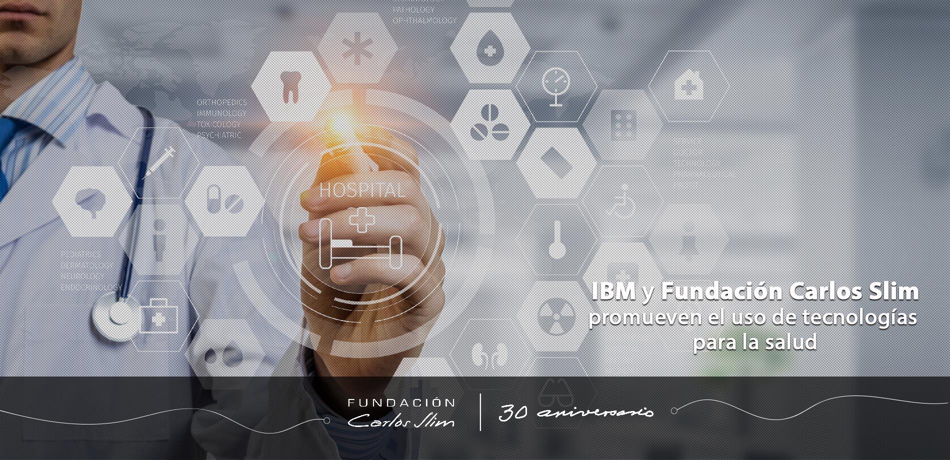4 IBM y FCS promueven el uso de tecnologias para la salud