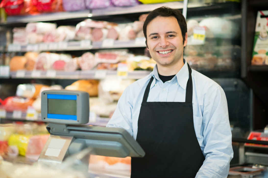 Cajero de tienda de autoservicio capac tate para el empleo for Cajeros en el aeropuerto