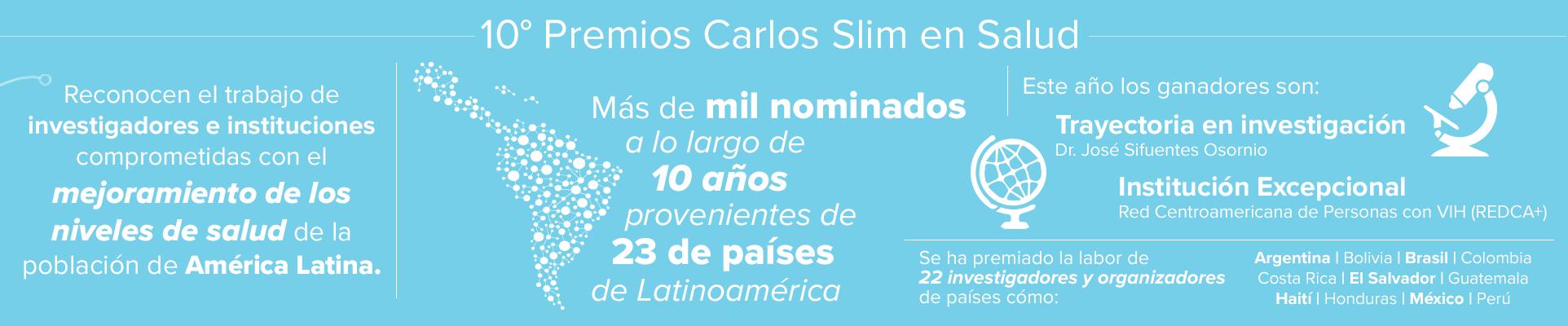 10º Premios Carlos Slim en Salud