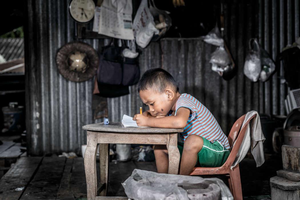 Uno de cada cinco niños vive en la pobreza en países desarrollados